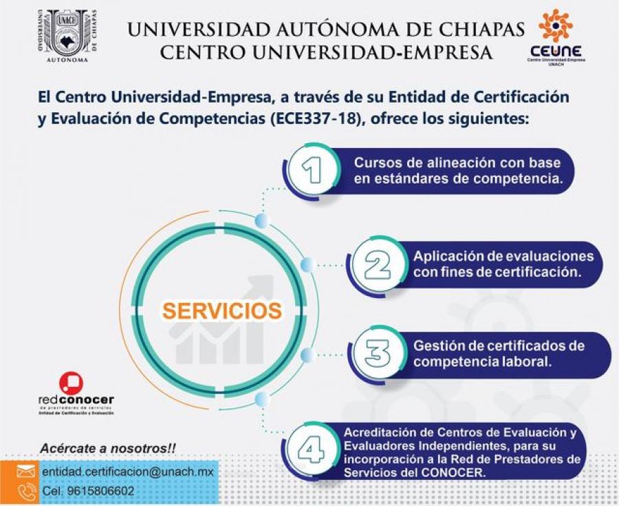 Entidad de Certificación y Evaluación de Competencias (ECE337-18)