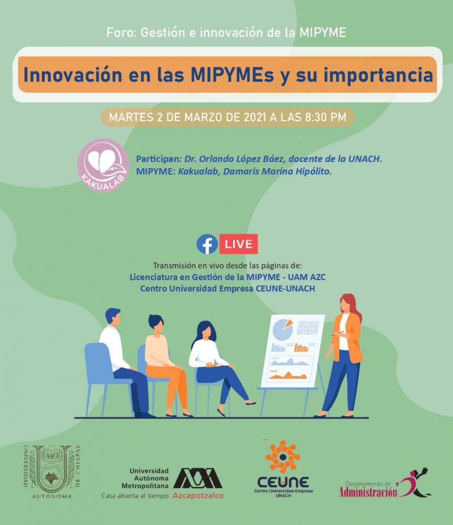 Foro: Gestión e innovación de la MIPYME